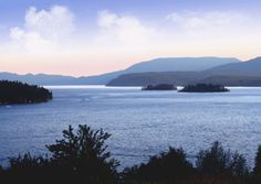 Islands of Hope.  One of my favorite views on lake Pend Oreille Hope Idaho Rain Silverhawk   http://www.lakeandhomes.com