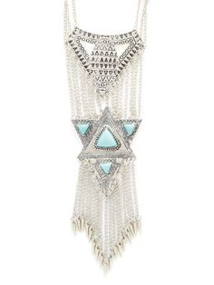 Sapphique Statement Necklace by Marabelle at Gilt