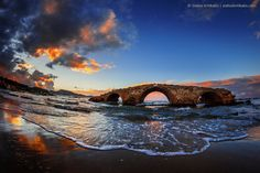 ancient, blue, bridge, coulds, dark, fire, fisheye, its_me, landscape, old, red, sea, seascape, sunset, water, wave, yellow, zakynthos, zante
