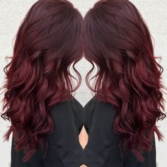Hair Dye - Ruby red hair! More