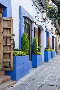 San Angel, Mexico D.F, I once lived in this area years back. Loved the colonial meets modern architectures, restaurants & coffee shops. Great memories!