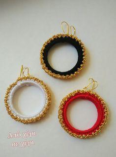 #από_χέρι_σε_χέρι #πλεκτό_κόσμημα #Κλεοπάτρα_Χρήστου #πλεκτο #κοσμημα #σκουλαρίκια #χειροποιητακοσμηματα #χειροποιητο #γυναικα #μοδα #δωρο #τεχνη #αξεσουαρ #crochetjewellery #woman #handmade #crochet #fashion #accessories #style #art #gift #girl #love #colorful #wearit #Greece #jewel #crochetearrings #lookoftheday Crochet Earrings, Hoop Earrings, Jewelry, Fashion, Tejidos, Screens, Moda, Jewlery, Jewerly