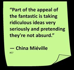 China Mieville Quotes. QuotesGram