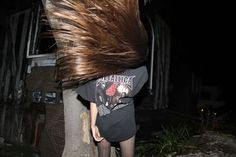 wall of hair .