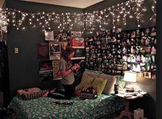 Lights twinkle wow teen decor alternative hipster rock kid teen scene