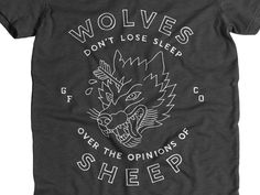 Hey yall its payday for some of us and you can buy this https://cottonbureau.com/products/wolves  Thanks to those who have bought so far!