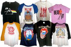 T-Shirts, T-shirts, and more T-shirts!