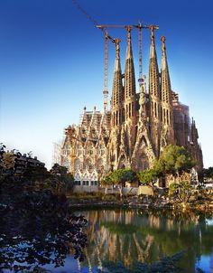 2019 year for girls- 40 images cool sagrada familia, barcelona, spain
