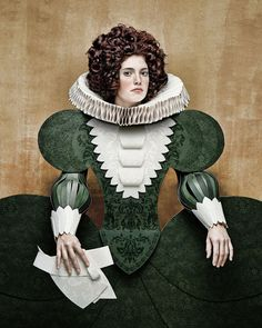 Mode historique en carton - La boite verte