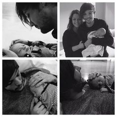 Louis and Louis Jr.  #OneDirection #directionernote #directioners #louistomlinson