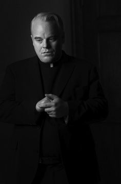 """R.I.P... .Phillip Seymour Hoffman (1967-2014) - """"Doubt"""", 2008. °  He fought the good fight.  May he now rest peacefully."""