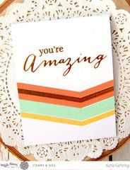 Simply elegant handmade card!