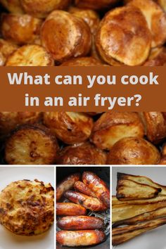 What can you cook in an air fryer? Delicious, crispy air fryer recipes, takeaways and roast dinner accompaniments. Frugal Meals, Freezer Meals, Air Fryer Recipes Uk, Slow Cooker Recipes, Low Carb Recipes, Roasted Potato Recipes, Chicken Recipes, Air Fried Food, Roast Dinner