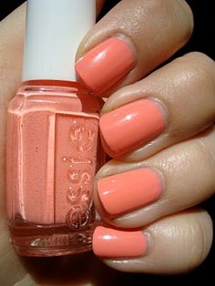 Looking at this color just makes me happier. Haute as Hello by Essie