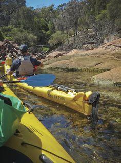 A unique kayaking adventure on Tasmania's East Coast. #kayak #kayaking #tasmania #discovertasmania #thingstodo