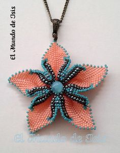 Wire Crafts, Bead Crafts, Diy And Crafts, Peyote Beading, Beaded Jewelry Patterns, Bead Crochet, Beading Tutorials, Bead Weaving, Beaded Necklace