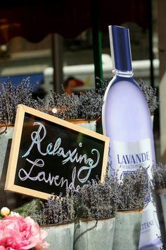 L'Occitane en Provence flower market windows by Sheridan, New York visual merchandising