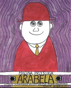 Arabela, Polish Theater Poster