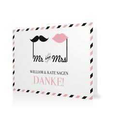 Dankeskarte Mr & Mrs in Sorbet - Klappkarte flach #Hochzeit #Hochzeitskarten #Danksagung #Foto #modern #Typo https://www.goldbek.de/hochzeit/hochzeitskarten/danksagung/dankeskarte-mr-und-mrs?color=sorbet&design=78f5f&utm_campaign=autoproducts