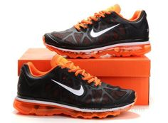 Air Max 2011 Netty Mens Shoes Discount black orange New Releases c5fe9dfc3