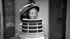 Doctor Who William Hartnell in Dalek. i swear this makes me unspeakably happy. Fifth Doctor, Bbc Doctor Who, Space Costumes, Dr Williams, Classic Doctor Who, William Hartnell, Space Museum, Through Time And Space, Best Doctors
