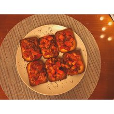 #bruschetta #oliveoil #tomatoes #basil #toast #cooking #food Tomato Basil, Cooking Food, Chana Masala, Bruschetta, Olive Oil, Tomatoes, Toast, Homemade, Ethnic Recipes