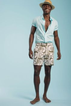 Father's Day: Napoli Jacquard Roger Short