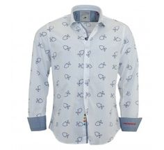 AFNF Fish On White Shirt