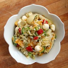 Pasta salad - light and refreshing for any #SundaySupper
