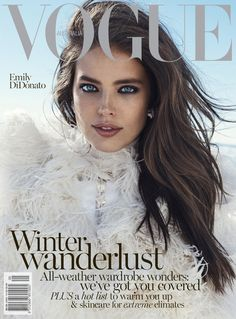 Emily DiDonato is an Ice Queen on Vogue Australia's June Cover - Magazin Emily Didonato, Vogue Magazine Covers, Vogue Covers, Vogue Australia, Top Models, Fashion Weeks, Covergirl Makeup, Maybelline Makeup, Modelo Emily