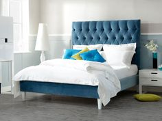 Gone with this for our guest bedroom. Lowry King Size Bed | The English Bed Company