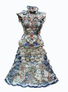 Les robes en porcelaine de Li Xiaofeng