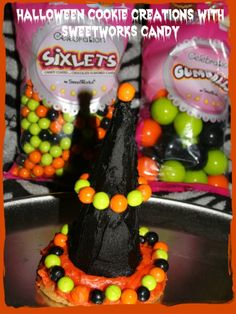 Halloween Witch Hat Cookie #SweetWorksFall