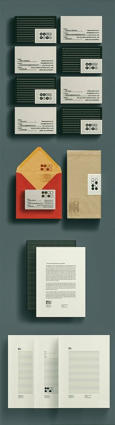 Corporate Identity / Má da Fita Identity on Branding Served