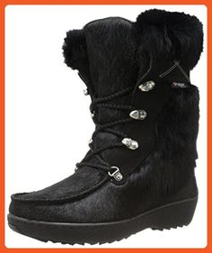 Pajar Women's Bionda Boot, Black Rabbit, 40 EU/9-9.5 M US - Outdoor shoes for women (*Amazon Partner-Link)