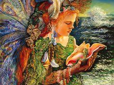 Josephine Wall Surrealism painting