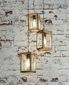 Stylish 36 Cretive Diy Hanging Decorative Lamps Ideas You Can Make Your Own Table Lamp Wood, Wooden Lamp, Suspension Diy Luminaire, Solar Light Crafts, Lampe Decoration, Wood Pendant Light, Diy Chandelier, Wood Working For Beginners, Diy Hanging