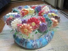 Chocolate Lollipops - Flower Garden