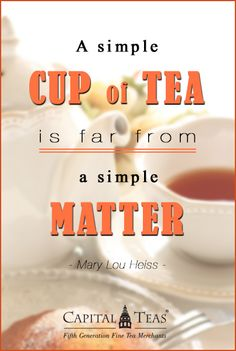 Tea quote of the day