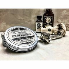 @cap7597  2/09/17 - Pirates Life's For Me!  Blackbeard:  Think Pipe Tobacco Spice and a Bay Rum Twist.  Wow!! The website says Tobacco Cherry Vanilla Patchouli Cloves and other Spices.  Wow!!! This has got to be the best Pipe Tobacco/Bay Rum I've tried!!! I'll be using this same set up again soon for a video.  Wow!!! #stache #moustache #wetshave #srs #straightrazor #shave #love #shaving #followme #guys #men #style #instapic #instagood #safetyrazor #instadaily #instaphoto #photo #picoftheday…