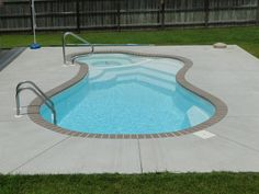 Inspiration For Small Swimming Pool Backyard Design Ideas, Awesome Inspiration . Inspiration For Small Swimming Pool Backyard Design Ideas, Awesome Inspiration For Small Swimming Small Fiberglass Inground Pools, Fiberglass Pool Prices, Small Inground Swimming Pools, Swimming Pools Backyard, Inground Pool Designs, Swimming Pool Designs, Backyard Pool Landscaping, Small Backyard Pools, Small Pools