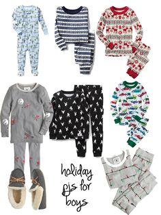 Christmas 2014 jammies for little boys