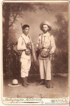 Extraordinaria Fotografía,Guerra de Filipinas,Impresionante!!!,rarísima y original,Cuba,Manila