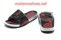 7f3b9fa72837 nike air jordan hydro 5 slide sandals black red sneakers p 3301