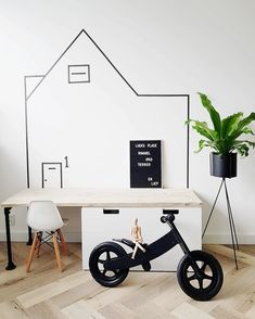 Kids Room Design, Interior Design Living Room, Baby Play Areas, White Kids Room, Scandinavian Kids Rooms, Play Corner, Ikea Kids, Baby Kind, Boy Room