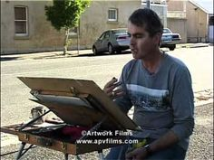 Watercolour on Location: Joseph Zbukvic - YouTube