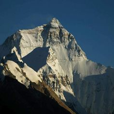 Mt Everest North Face
