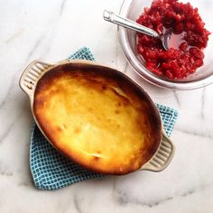 Baked Ricotta with Sugared Raspberries   A Pleasant Little Kitchen Recipe  