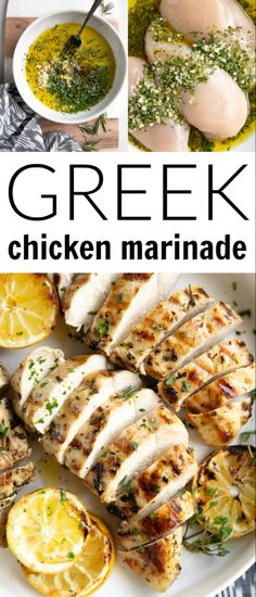 The Best Greek Chicken Marinade . The Best Greek Chicken Marinade recipes tasty Recetas Crock Pot, Mediterranean Recipes, Mediterranean Chicken Marinade, Mediterranean Style, The Best, Squash, Cooking Recipes, Keto Recipes, Easy Recipes
