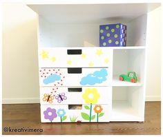 Gör din egen dekor till barnrummet